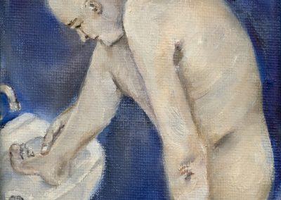 KARTHAUS-M04-Man wast voet